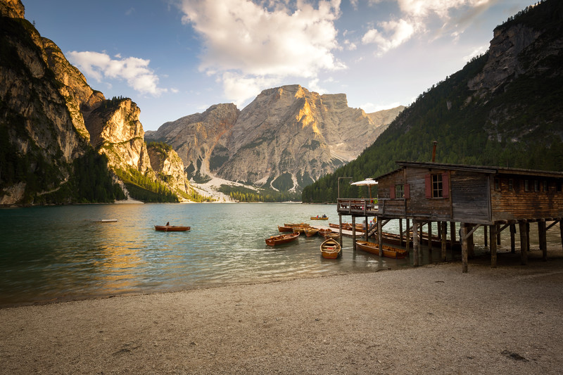 Lago di Braies Afternoon