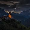 Church at Sunrise Dolomites