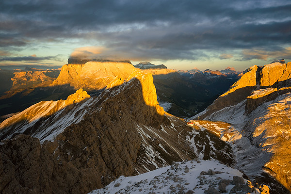 Rifugio Alpe di Tires Sunset