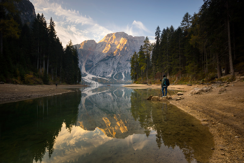 Lago di Braies Outlet