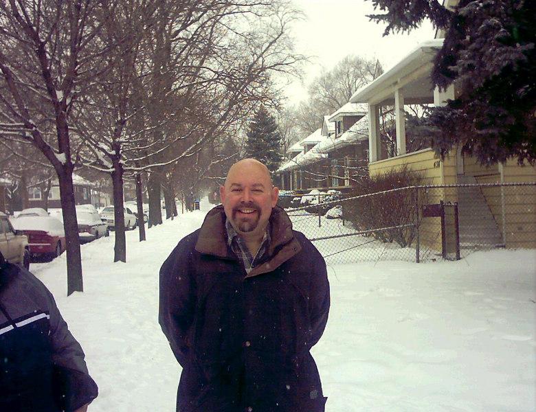 John in snow