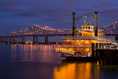 Creole Queen at Dusk
