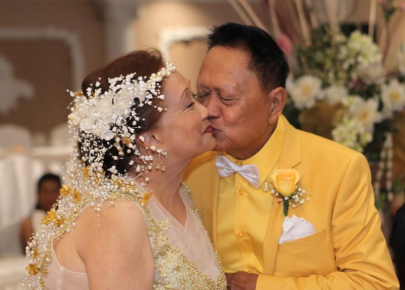 Doming and Tita's 50th Wedding Anniversary