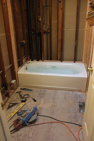 2016-01-15 Bathroom Progress