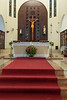 The Cathedral of St. Philip the Apostle interior in Puerto Plata, Dominican Republic, Caribbean.