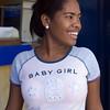 Young woman, La Vega, Dominican Republic.
