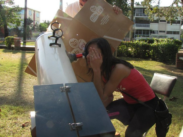 Solar Observing in the Dominican Republic