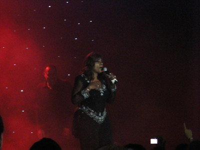 Gloria Gaynor singing at the gala.   If you have any questions about the Hard Rock Punta Cana or if you'd like to plan a trip, please contact at Romance@sandnsunvacations.com