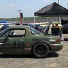 Miata's are a very popular amateur sports car racing machine.