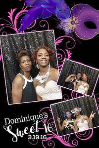 Dominique's Sweet 16