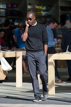 Don Cheadle seen in Santa Monica