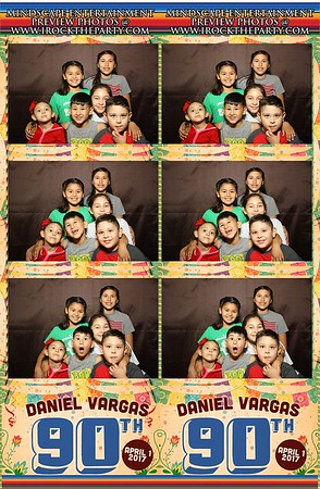 Don Daniel's 90th Birthday -Photo Booth Pictures