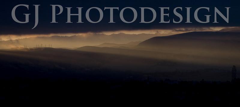 Sunrise over Fremont<br /> Don Edwards Nat'l Wildlife Refuge, Fremont, CA<br /> 0808R-PFS3
