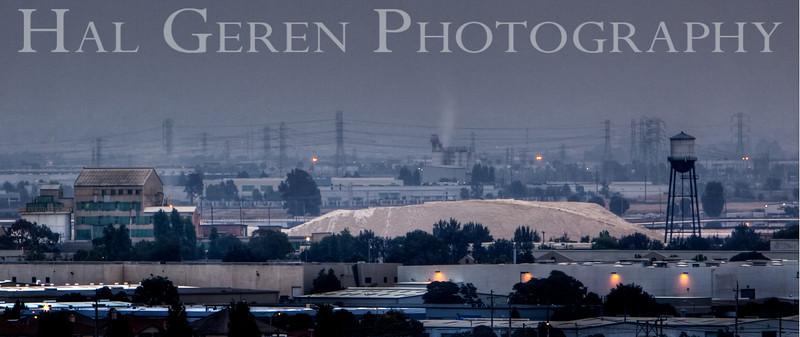 Cargil Salt; early morning Newark<br /> Don Edwards Natl Wildlife Refuge, Fremont, California<br /> 0908R-NH1