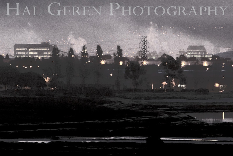 Industrial Newark<br /> Don Edwards Natl Wildlife Refuge, Fremont, California<br /> March, 2009<br /> 0903R-NI1E1
