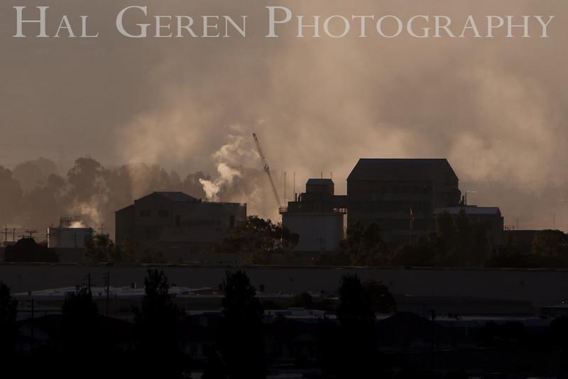 Industrial Newark<br /> Don Edwards Natl Wildlife Refuge, Fremont, California<br /> 0909R-IS2