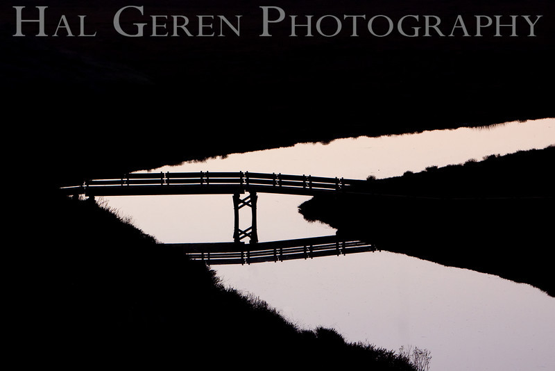 Bridge over the Slough<br /> Don Edwards Natl Wildlife Refuge, Fremont, California<br /> January, 2009<br /> 0901R-B1