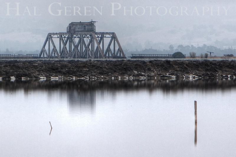 Swing Bridge<br /> Don Edwards Natl Wildlife Refuge, Fremont, California<br /> 0908R-SBH2