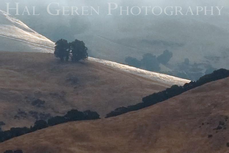 Sunrise on the hills overlooking Fremont<br /> Don Edwards Natl Wildlife Refuge, Fremont, California<br /> 0908R-SOTH1