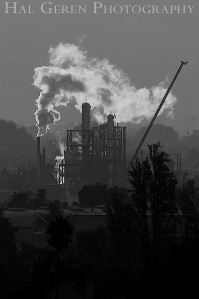 Industrial Steam in Newark<br /> Don Edwards Natl Wildlife Refuge, Fremont, California<br /> 0909R-IS1E1