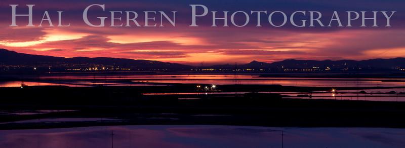South Bay Sunrise<br /> Don Edwards National Wildlife Refuge, Fremont, CA<br /> 0912R-SBS5