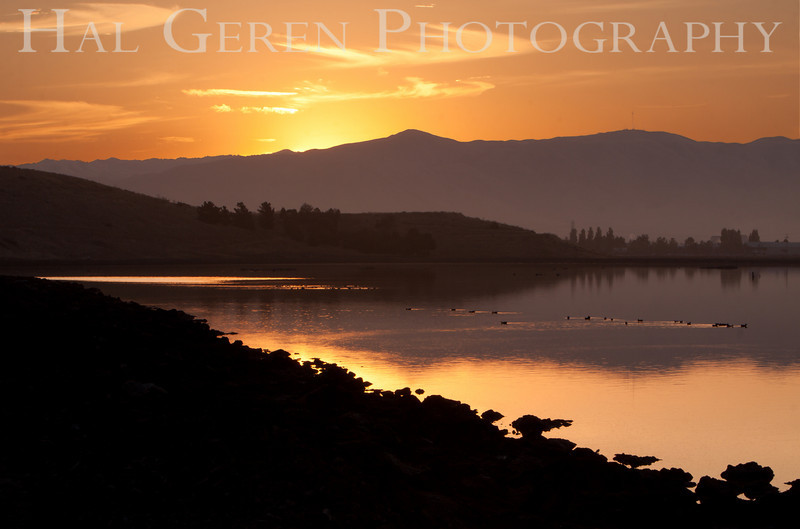 Sunrise over the Levees<br /> Don Edwards National Wildlife Refuge.  Fremont, CA<br /> 1009R-SOTL2