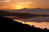 Sunrise over the Levees<br /> Don Edwards National Wildlife Refuge.  Fremont, CA<br /> 1009R-SOTL2