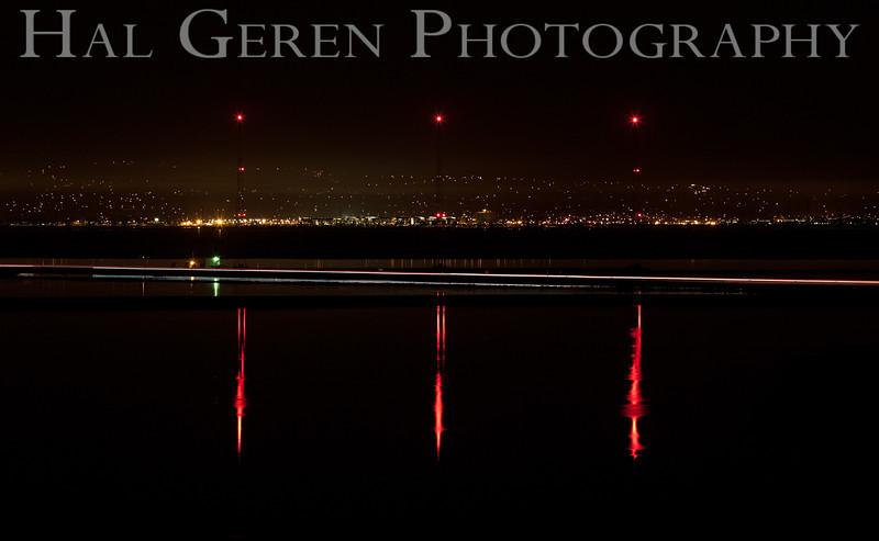 KGO Radio Towers <br /> Don Edwards Natl Wildlife Refuge, Fremont, CA<br /> 1111R-KGOT1