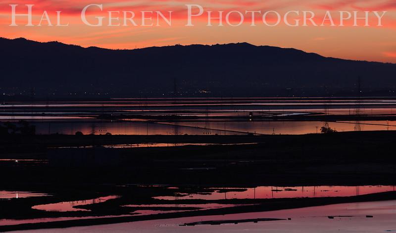 Dawn over the Southeast Bay<br /> Don Edwards National Wildlife Refuge, Fremont, California<br /> 1212R-SB2
