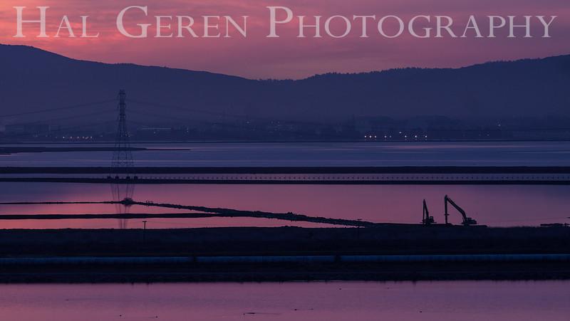 Dawn over the Southwest Bay<br /> Don Edwards National Wildlife Refuge, Fremont, California<br /> 1212R-SB1