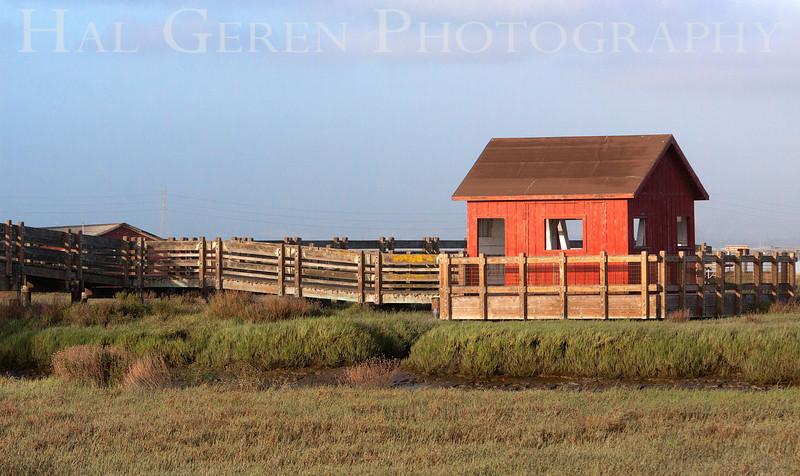 Little Red House on the Bay<br /> Don Edwards Natl Wildlife Refuge<br /> Fremont, California<br /> 1206R-LRHOTB1