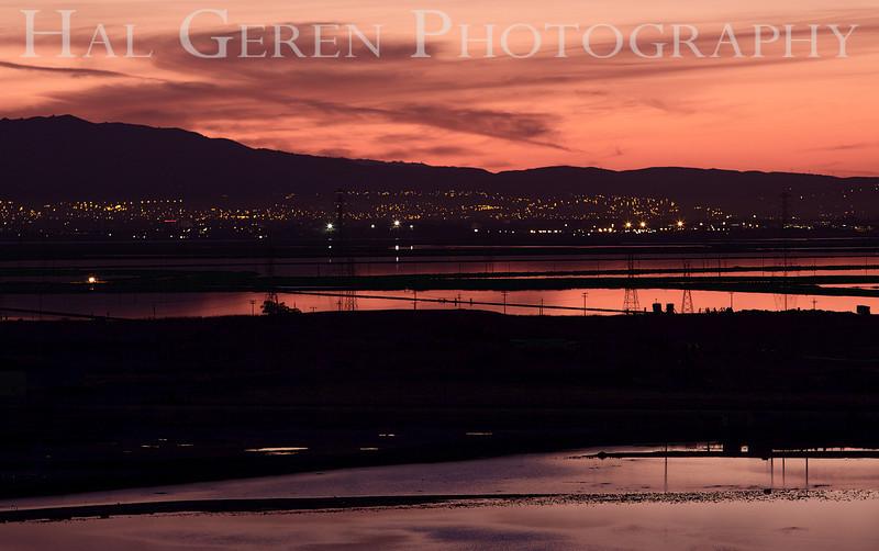 East Bay Sunrise<br /> Don Edwards Natl Wildlife Refuge, Fremont, CA<br /> 1111R-S2