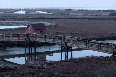 The old fish cleaning shed Don Edwards National Wildlife Reserve Fremont, California 1310R-RS1