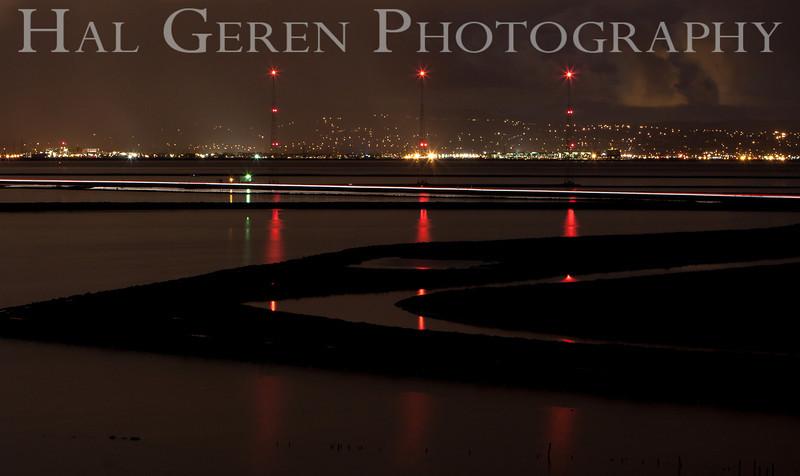 Radio Tower Dawn<br /> Fremont, California<br /> 1104R-KGOD1
