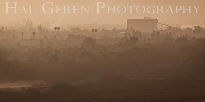 Morning Mist over an old Newark<br /> Don Edwards National Wildlife Refuge<br /> Fremont, California<br /> 1303R-NM2