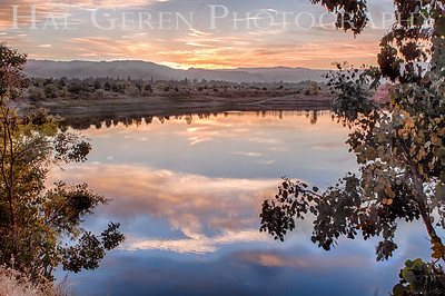 Dumbarton Quarry Lakes Sunrise Fremont, California 1309R-SH1