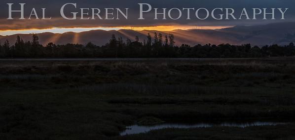Sunrise over the Fremont Hills Fremont, California 1309R-S1