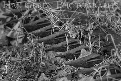 Old Machinery Dry Creek Park, Fremont, California 1308DC-M6BW1