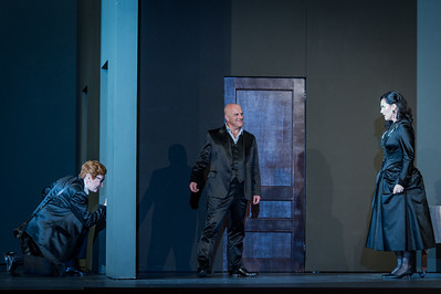 Don Giovanni - Wolfgang Amadeus Mozart - English National Opera - 30th September  Director - Richard Jones Set Designer - Paul Steinberg Costume Designer - Nicky Gillibrand Lighting - Mimi Jordan Sherin  Conductor - Mark Wigglesworth  Don Giovanni - Christopher Purves Commendatore - James Creswell Donna Anna - Caitlin Lynch Don Ottavio - Allan Clayton Donna Elvira - Christine Rice Leporello - Clive Bayley Masetto - Nicholas Crawley Zerlina - Mary Bevan