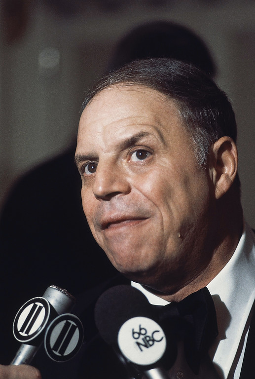 . Comedian Don Rickles, shown at the Friars Club in New York City on Feb. 23, 1976. (AP Photo/Richard Drew)