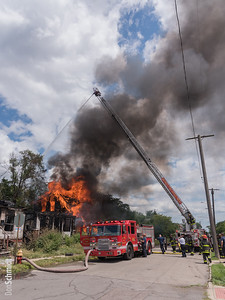 Box Alarm: Next to 8701 Peter Hunt St, Detroit, MI - 7/14/17