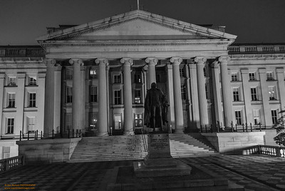 Before Dawn - The Treasury Department Washington, DC