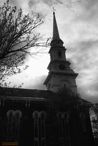 North Church - Portsmouth, NH (B&W)