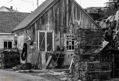 """Fisherman's Shack - 2"" Pigeon Cove - Rockport, Massachusetts"