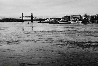 Piscataqua River between Kittery, ME and Portsmouth, NH