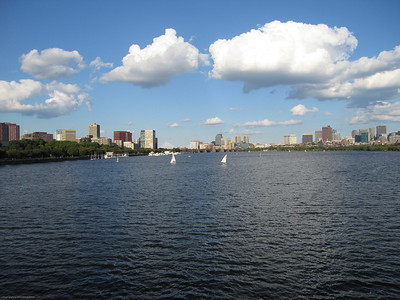Charles River - Cambridge and Boston