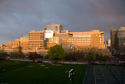 Boston's Longwood Medical Area at Dusk - 2