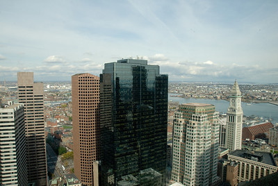 Boston-A Skyscrapper's View - The Financial District