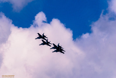 Blue Angels over Boston's 4th