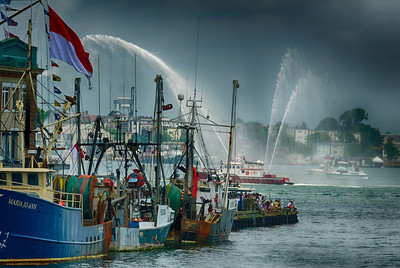"""Celebrating the 4th - Boston Harbor"" Boston, Massachusetts"